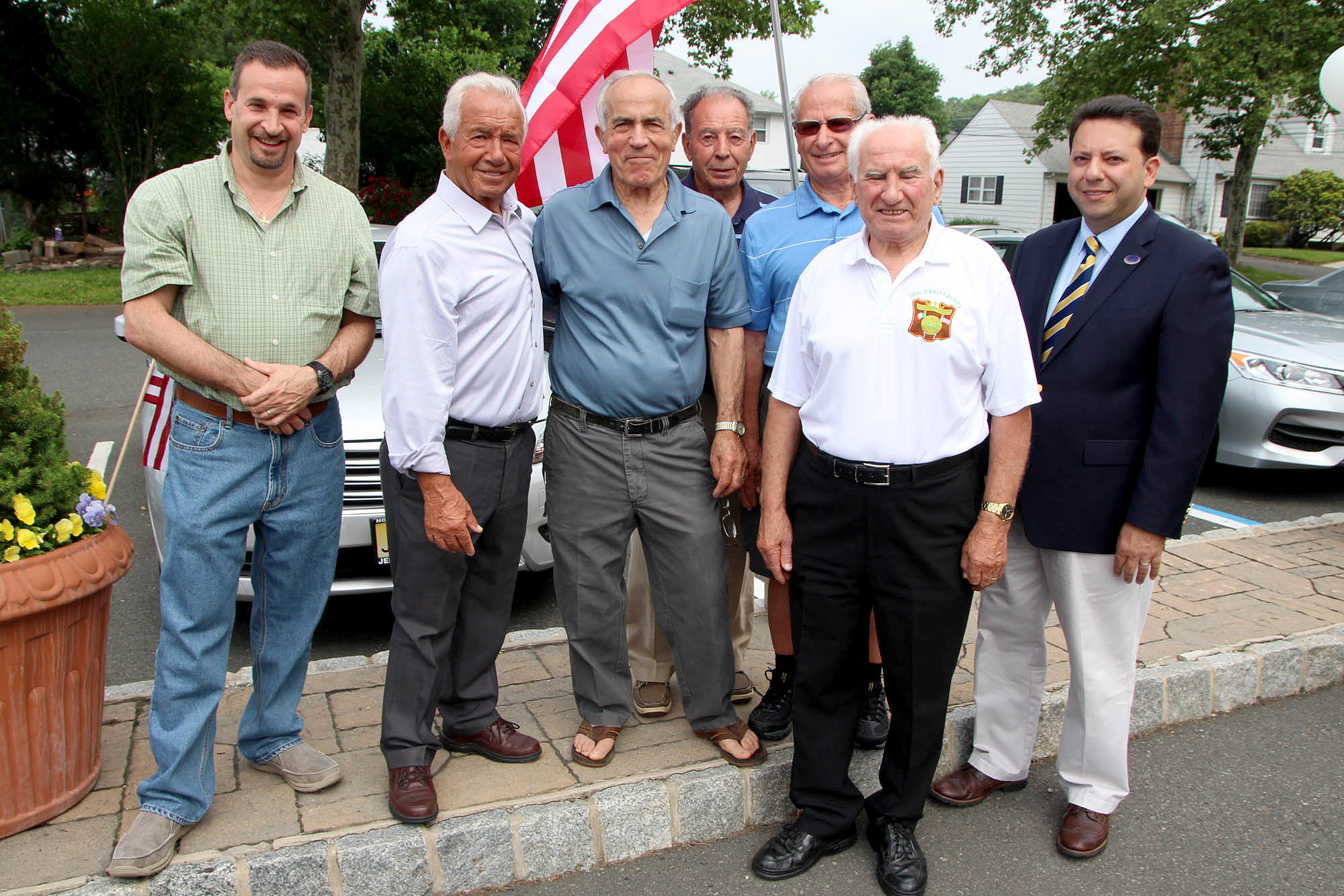 Italian American: Scotch Plains Italian American Club Dedicates Montazzoli