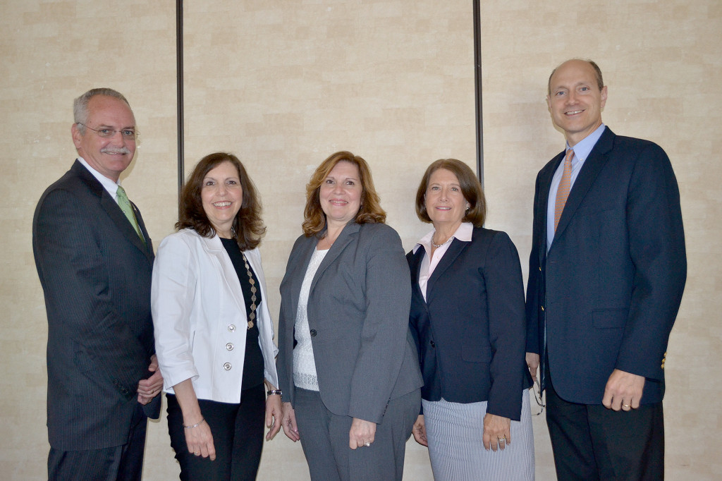 (above l-r) Timothy York ,VP; Harriet Schulma(above l-r) Timothy York ,VP; Harriet Schulman, Treasurer; Maria Fuentes, Chairwoman; Darielle Walsh, Secretary; and Patrick Cicala, VP.n, Treasurer; Maria Fuentes, Chairwoman; Darielle Walsh, Secretary; and Patrick Cicala, VP.