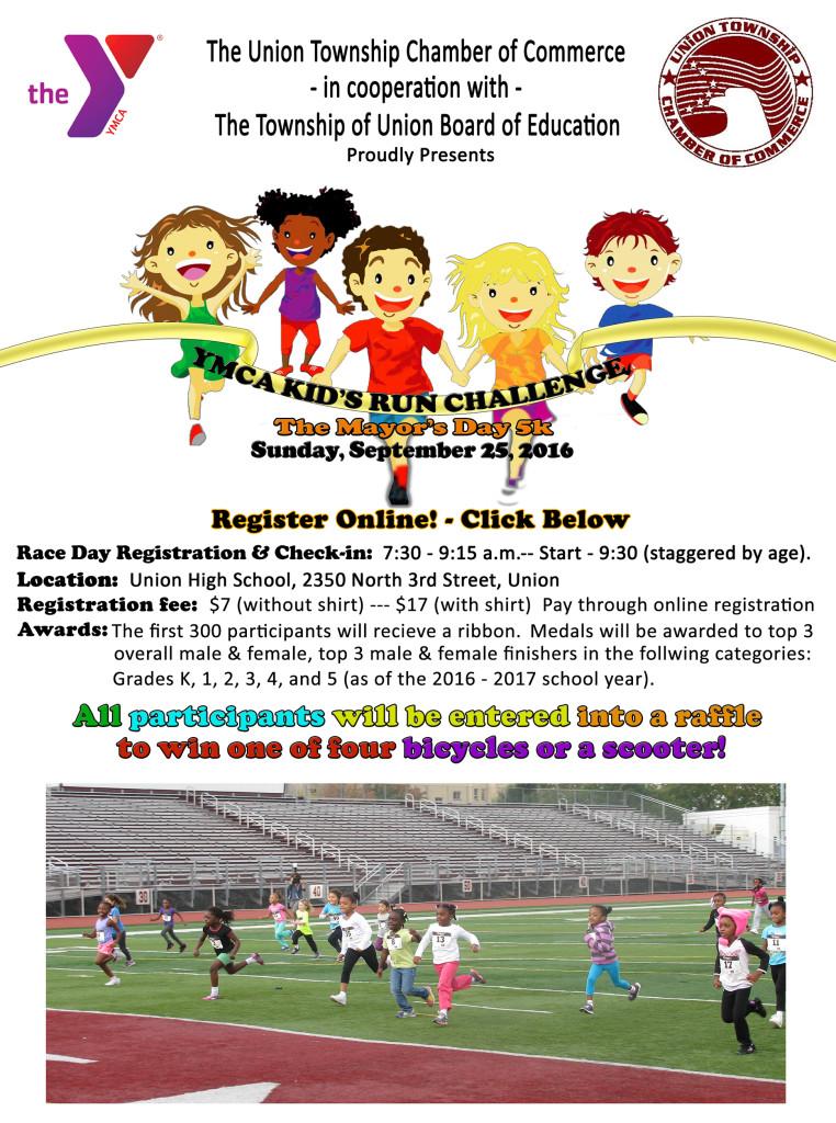Union YMCA Kid's Run Challenge @ union High school | Union | New Jersey | United States
