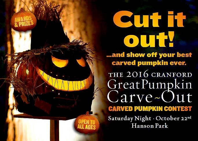 Cranford The 2016 Cranford Great Pumpkin Carve Out @ Hanson Park