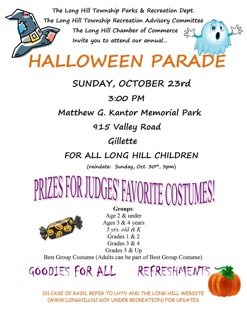 Long Hill Halloween Parade @ Matthew G. Kantor Memorial Park | Long Hill | New Jersey | United States