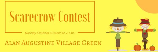 Scotch Plains Scarecrow Contest @ the Alan Augustine Village Green