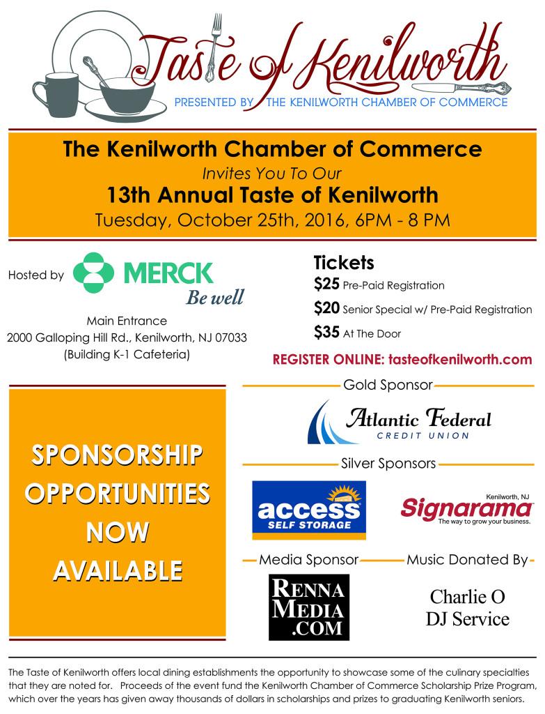 Kenilworth Taste of Kenilworth @ Kenilworth | New Jersey | United States