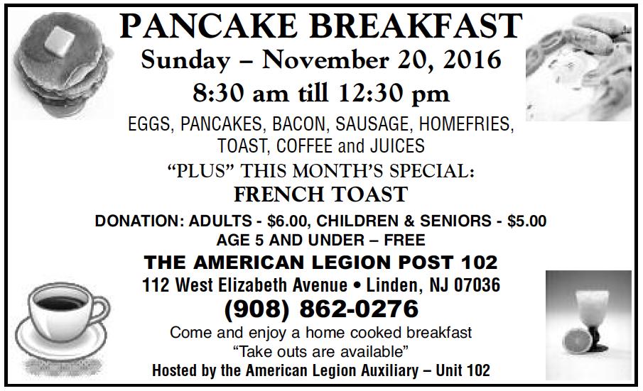 Renna Media The American Legion Post 102 Pancake Breakfast