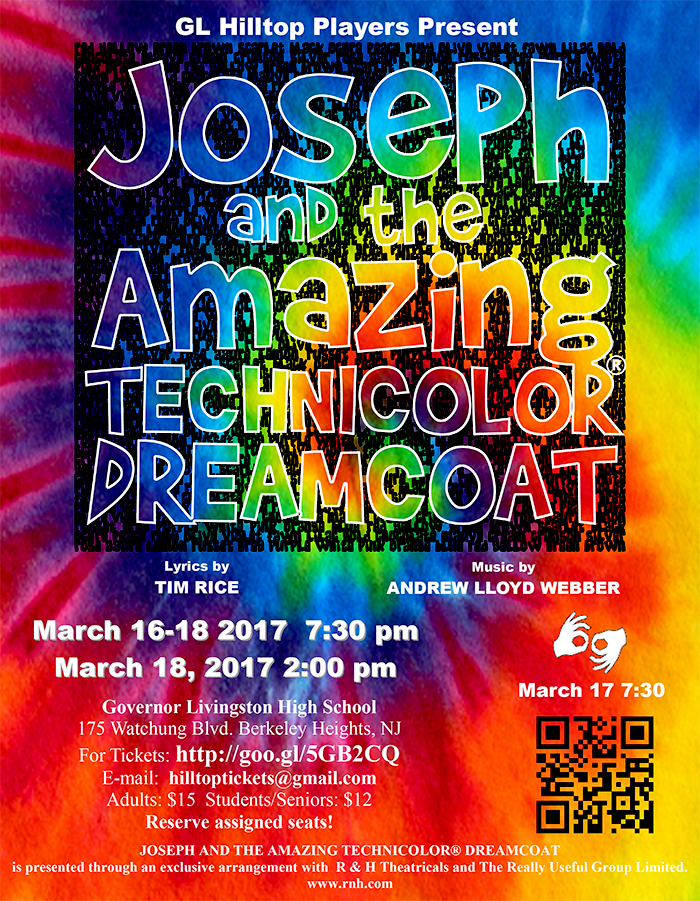 Joseph and the Amazing Technicolor Dreamcoat @ Governor Livingston High School | New Providence | New Jersey | United States