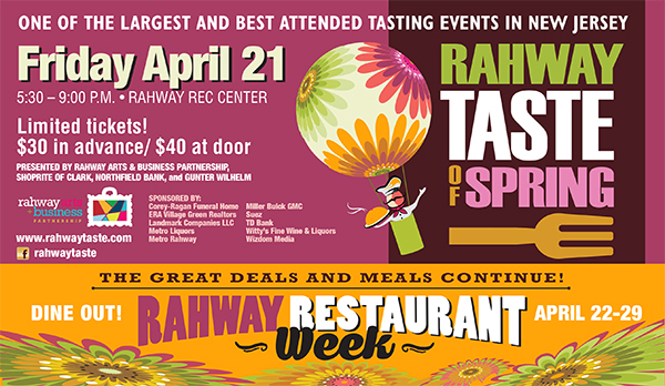 Rahway Taste of Spring @ Rahway Recreation Center | Rahway | New Jersey | United States