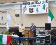 Scotch Plains Italian American Plaza 2016