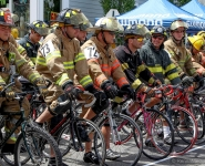 Stirling Fire Dept. Bike 2016 race