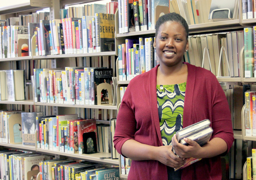 (above) Christal Blue, SCLSNJ's North Plainfield Memorial Library branch manager.