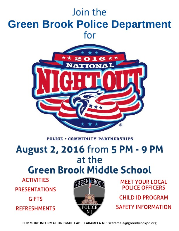Green Brook National Night Out Renna Media