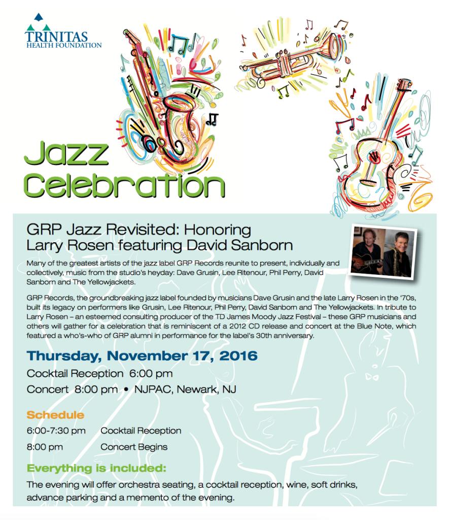 Westfield GWACOC Jazz Celebration @ NJPAC | Newark | New Jersey | United States