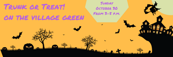 Scotch Plains Halloween Trunk or Treat & Food Drive @ the Alan Augustine Green