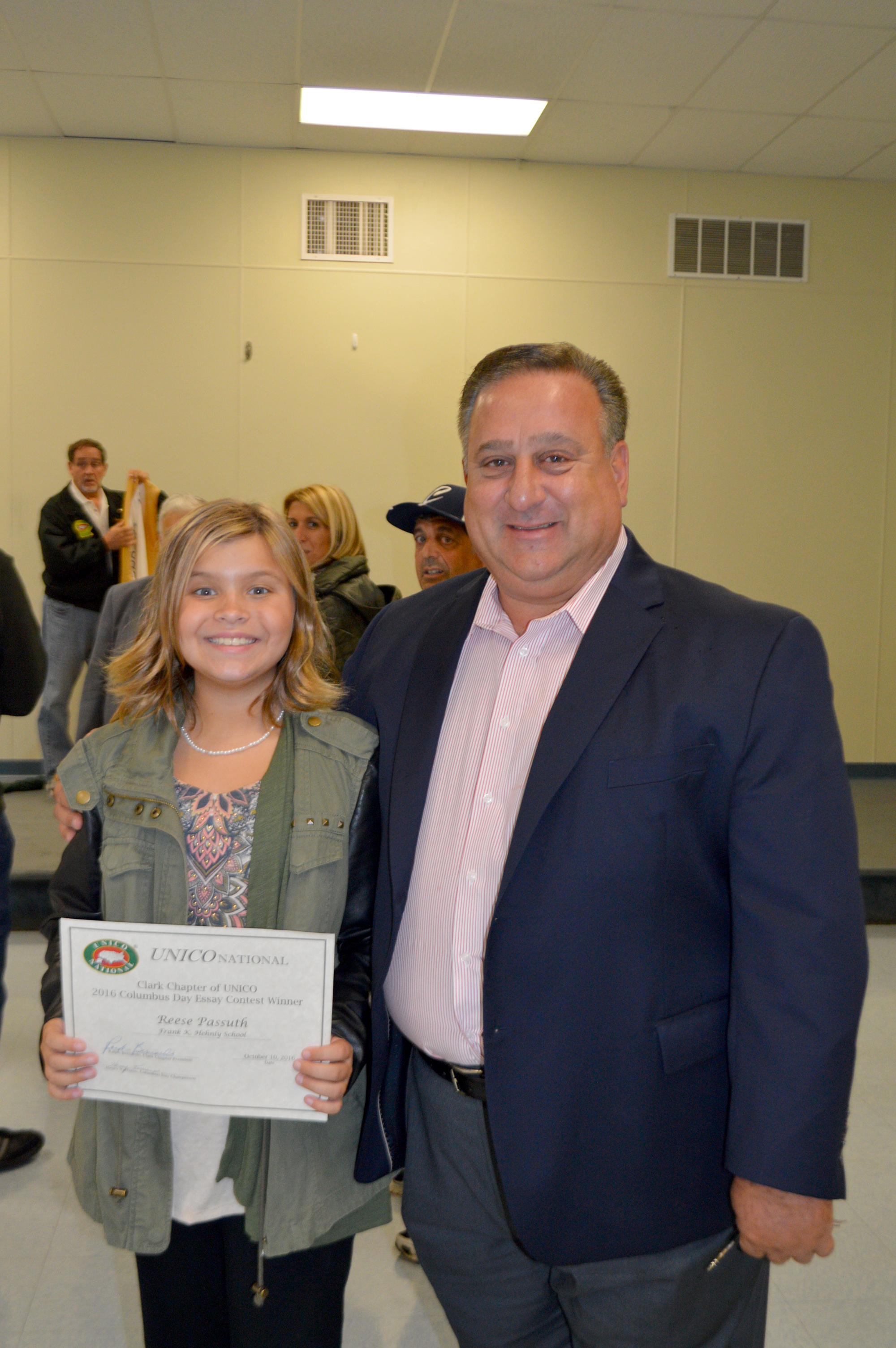 renna media hehnly student wins columbus essay contest   above reese passuth fifth grader at the frank k hehnly school and