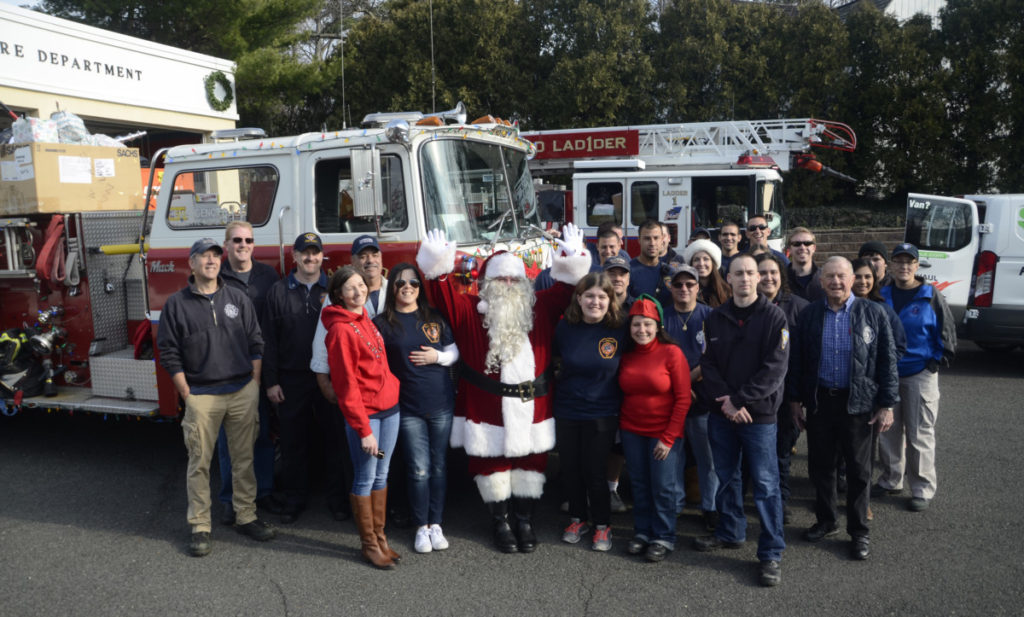 Fanwood Santa Claus is Comin' to Town!